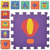 Детский коврик Мозаика MR 0358 из 9 элементов