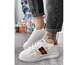 Жіночі кросівки gucci retro 33-3, фото 2