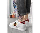 Жіночі кросівки gucci retro 33-3, фото 3