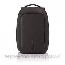 Рюкзак Bobby bag протикрадій з USB Чорний