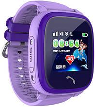 Смарт-часы UWatch DF25 Kids waterproof smart watch Purple (52339)
