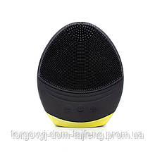 Електрична силіконова щітка-масажер Smallbei BC1819 Black IPX7 (4111-11223)