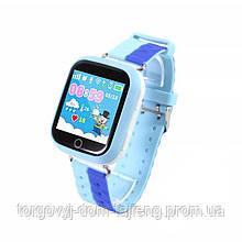 Смарт-часы UWatch Q100S с GPS трекером Blue (2965-8036)