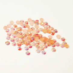 Камені Стрази 2 мм для Нігтів Акрилові Рожеві з Відливом в Наборі, Декор Нігтів, Манікюр