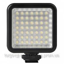 Накамерне світло Ulanzi W49 постійний для фото та відеокамер (3067-8793a)