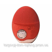 Ультразвукова щітка масажер Doc-team brush для особи з функцією фототерапії Червоний (160)