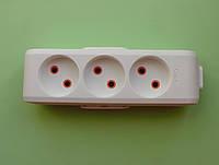 Колодка VIKO на 3 гнезда для электрического удлинителя