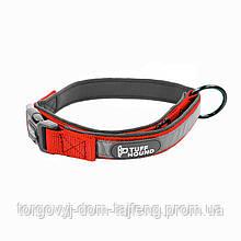 Ошейник для собак TUFF HOUND 1427 с утяжкой M Red