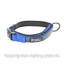 Ошейник для собак TUFF HOUND 1427 с утяжкой XS Blue