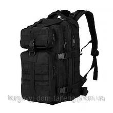 Рюкзак тактичний AOKALI Outdoor A10 35L військовий Black (5356-16996a)
