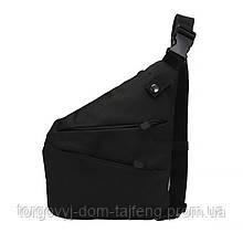 Рюкзак тактический на одно плечо AOKALI Outdoor A38 5L Black (5370-17002a)