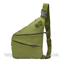 Рюкзак тактичний на одне плече AOKALI Outdoor A38 5L Green (5370-17004a)