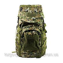 Рюкзак тактический AOKALI Outdoor A51 50L Camouflage Green (5366-17006a)