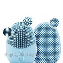 Массажер щетка для чистки лица Xiaomi JORDAN & JUDY Face Cleaning NV0001 (Голубой)