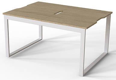 Журнальный стол-трансформер Fiji Combo белый/дуб сонома ТМ ARTinHEAD