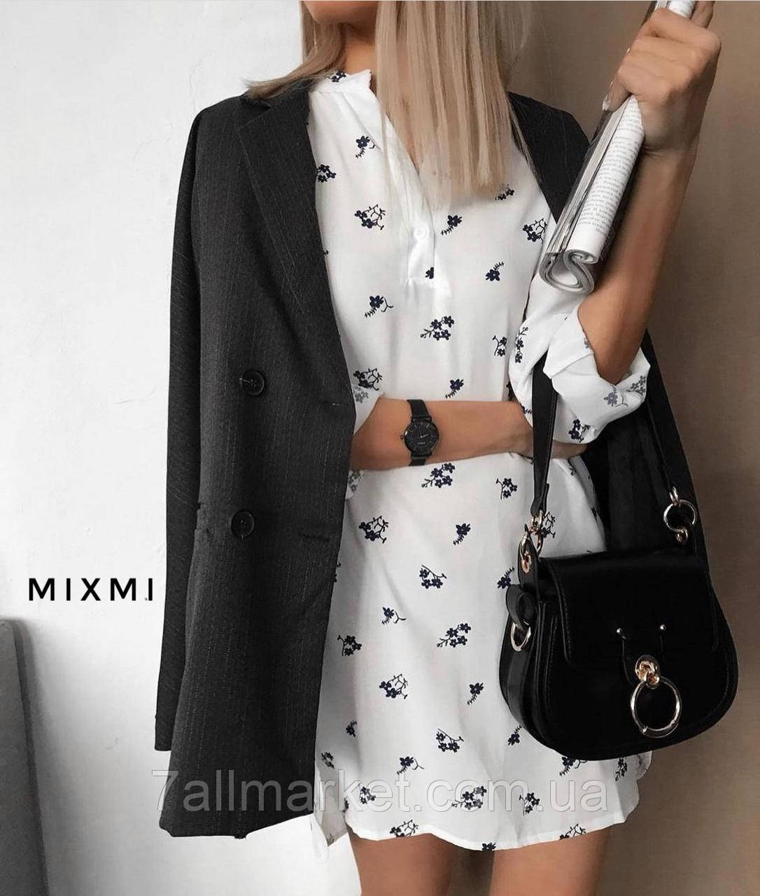 """Сукня жіноча молодіжна з принтом, розмір 42-46 """"MIXMI"""" купити недорого від прямого постачальника"""