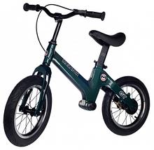Беговел Maraton GT (Темно-зелений) Для дітей з ручним гальмом