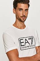 Мужская футболка EA7 Emporio Armani, белая армани, фото 1
