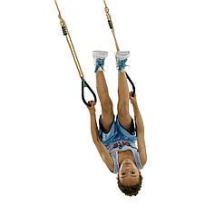 Кільця на мотузках для дитячих майданчиків, акробатичні кільця, фото 2