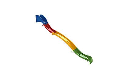 Гірка для спуску 7 м. скло з пластику, H-3.5 м., фото 2