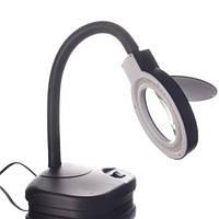 YIHUA-239L лупа-лампа настольная с светодиодной подсветкой LED подсветка, 2X +20X, диам.-90мм, 220V