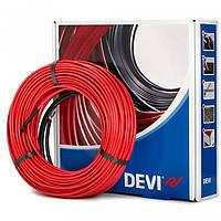 Теплый пол DEVIflex 10T (1,5 кв.м., 205 Вт, нагревательный кабель)