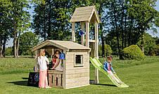 Дитяча ігрова вежа з будиночком Blue Rabbit LOOKOUT, фото 2
