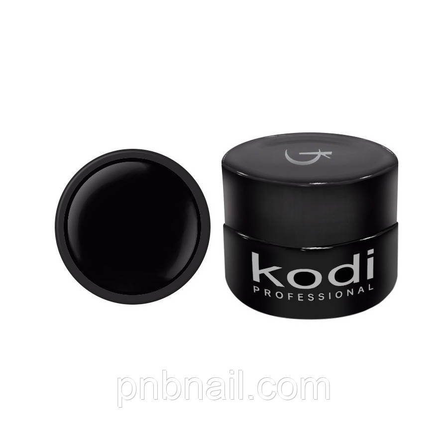 Гель-краска Kodi Professional 02 ( черная ), 4 мл