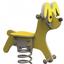 Качалка на пружині KBT Собака з HDPE пластику (тільки сидіння)