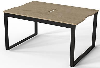 Журнальный стол-трансформер Fiji Combo черный/дуб сонома ТМ ARTinHEAD