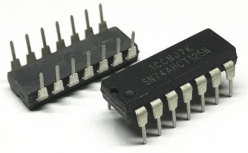 Мікросхема SN74AHCT125N DIP-14