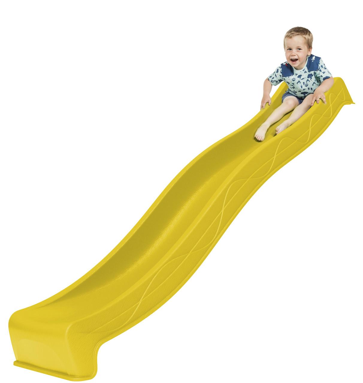 Дитяча гірка для спуску 3 м. KBT Жовта