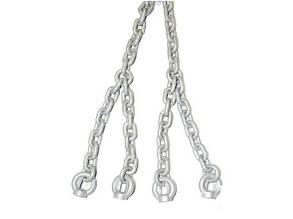 Набір ланцюга оцинковані 6 мм для гойдалка підвісна 180 см
