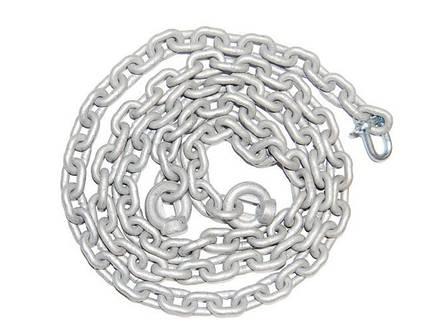 Набір ланцюга оцинковані 6 мм для гойдалка підвісна 180 см, фото 2