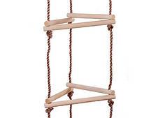 Тристороння мотузкові сходи для дитячого майданчика, фото 3