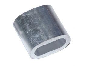 Алюмінієва гільза овальна обтискна, на канат армир. Ø16мм, фото 2