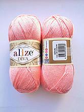 Пряжа Дива (Diva) ALIZE цвет 145 розовый