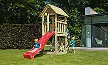 Дитячий майданчик Blue Rabbit KIOSK, будиночок з гіркою, фото 3