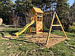 Дитячий майданчик Blue Rabbit BELVEDERE + SWING, фото 5