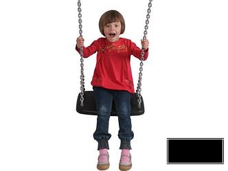 Гойдалки великі XXL на ланцюгах для дитячих майданчиків, фото 2