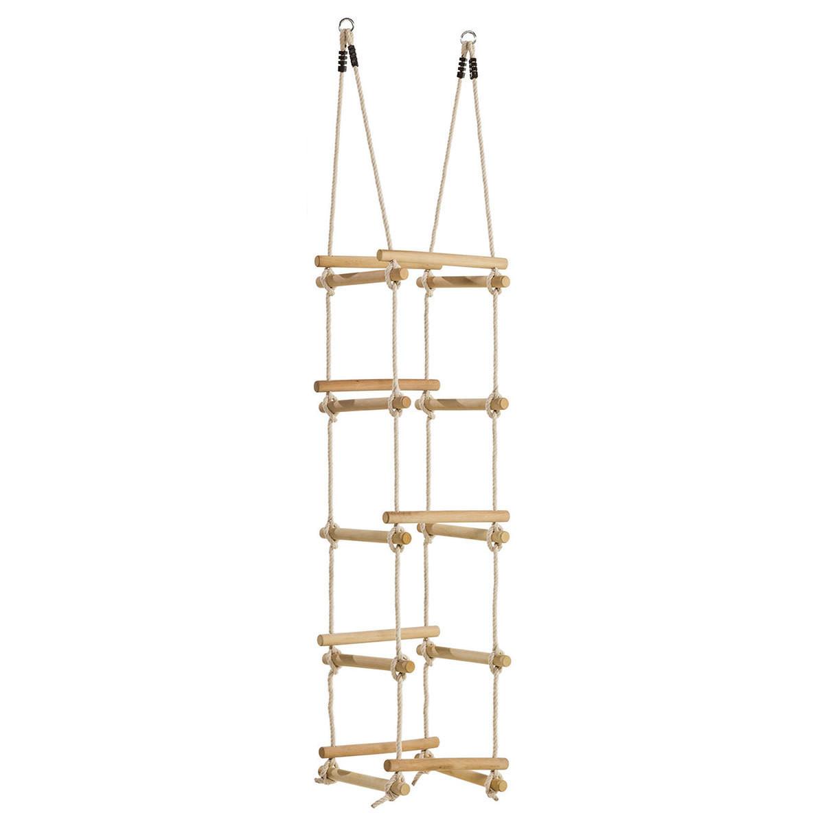 Мотузкова драбинка на 4 сторони для дитячого майданчика