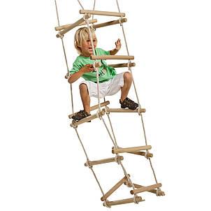 Мотузкова драбинка на 4 сторони для дитячого майданчика, фото 2