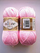 Пряжа Дива (Diva) ALIZE цвет 185 розовый