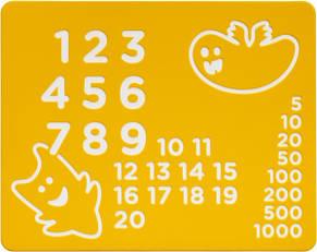 Ігрова HDPE панель Цифри KBT, фото 2