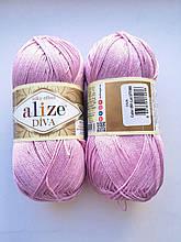 Пряжа Дива (Diva) ALIZE цвет 291 розовый