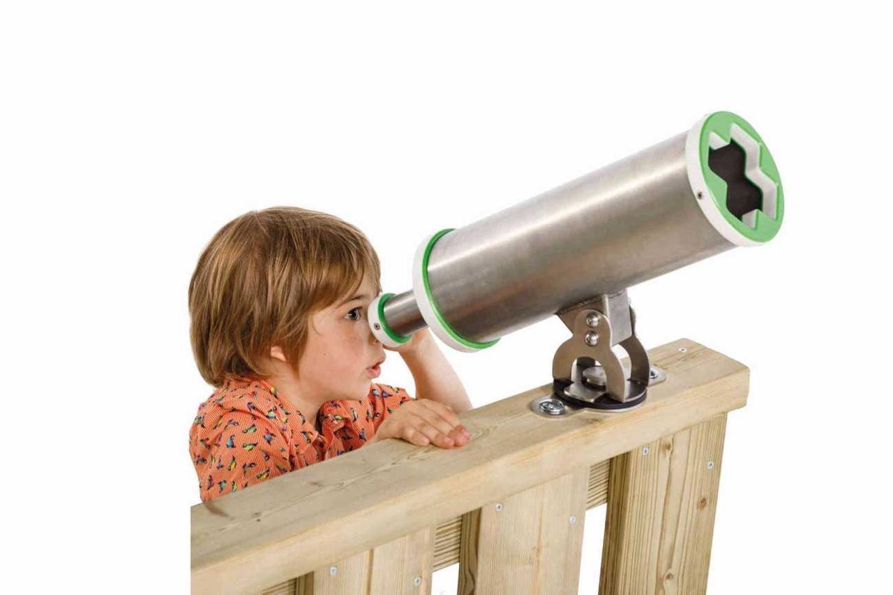 Телескоп X з нержавіючої сталі KBT для дитячого майданчика