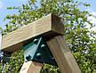 Одинарні гойдалки Enkel дерев'яна яні, фото 3