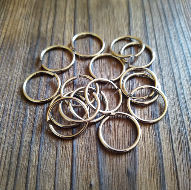 Металлические кольца 1,6 мм