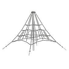 Піраміда з каната 2,0 м для дитячих майданчиків, фото 2