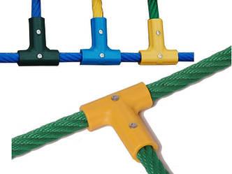 Т-образний з'єднання єднувач для канатів діаметром 16 мм, фото 2